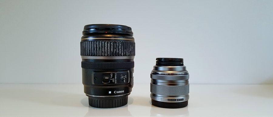 Obiektywy do aparatów z lustrem i mirrorless