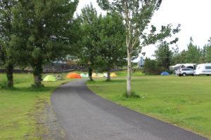 camping in Hafnarfjordur