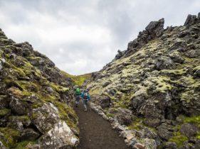 Start of Trail - Laugahraun. Photo: Greg Maino, Juskuz.com