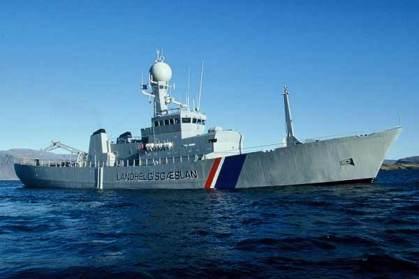 Coast Guard vessel Tyr.
