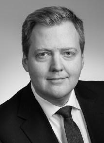 Sigmundur Davíð Gunnlaugsson Prime Minister June 2013 to April 2016.