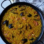 Seafood Paella, Made Famous by… You