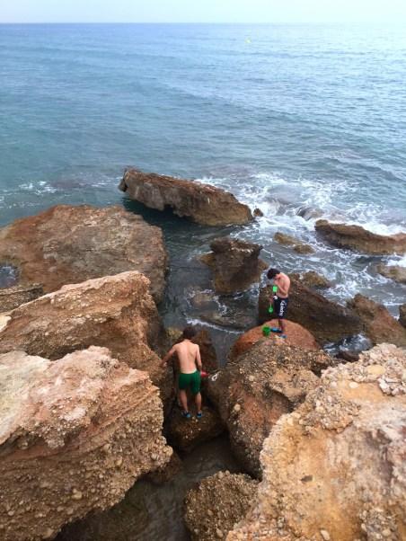 Playa del Moro, Mama ía