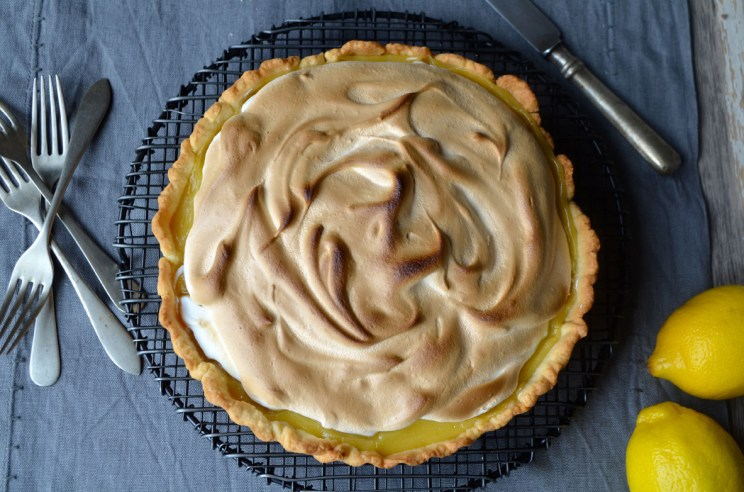 Lemon meringue tart, Mama ía