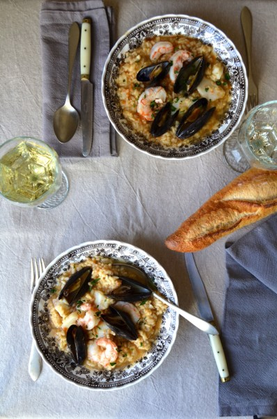Soupy seafood rice, Mama ía blog