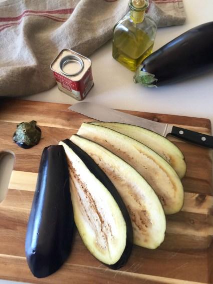 Oven baked eggplant, Mama Ía blog