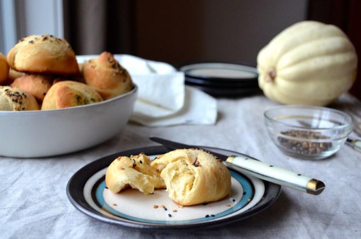Dinner rolls three ways, Mama ía blog