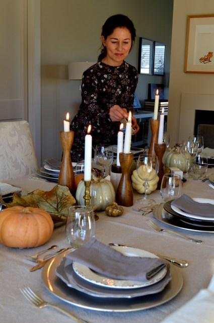 Autumn tablescape, Mama ía blog