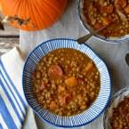 Lentil butternut squash soup, Mama ía blog