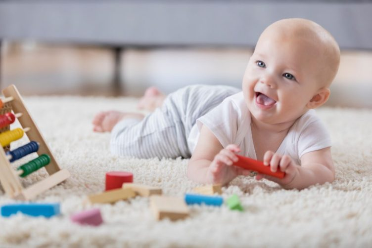 %name Safe & supervised tummy time for your baby