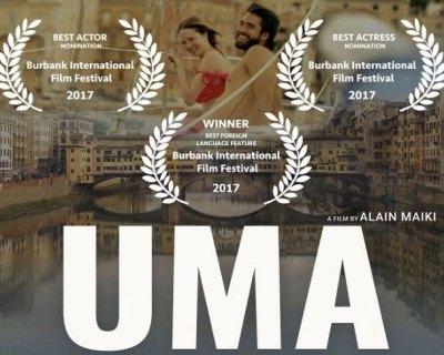 Natalia Denegri ganadora de premios internacionales por su película UMA.
