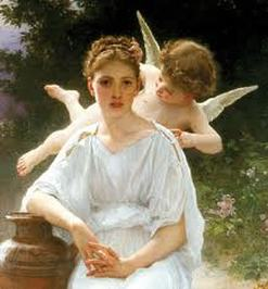 Image result for angel whispering in another's ear
