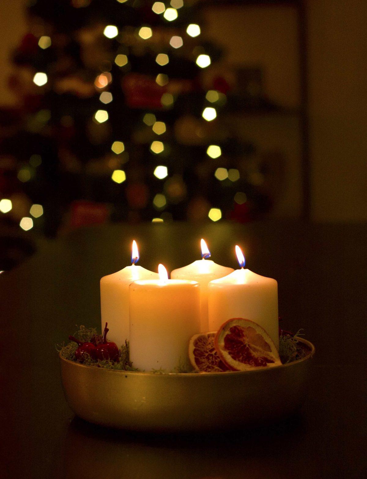 Natalia Lindberg Trädgrådsdesign - julgrupp torkade apelsiner
