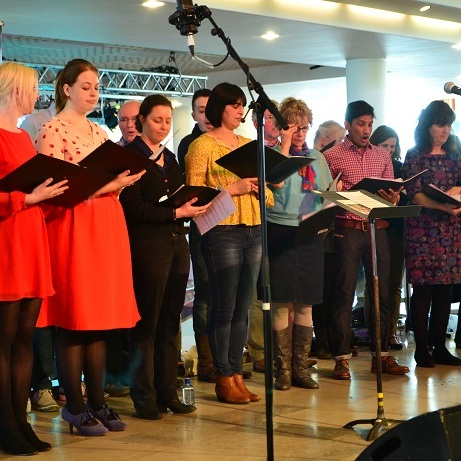 Belsize Community Choir at Southbank Centre Chorus Festival