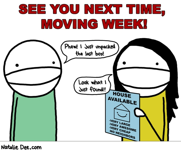 MW goodbye moving week