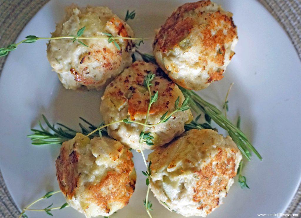 Gluten Free Apple Herb Turkey Meatballs