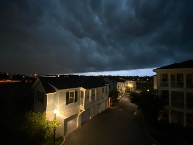 storm clouds 2020