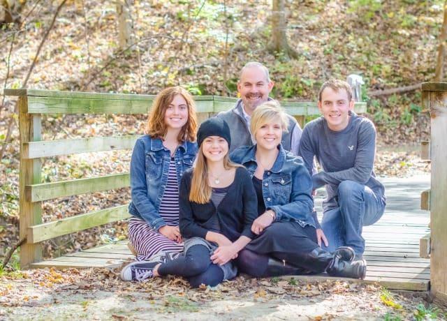 Family At Cordova Bridge