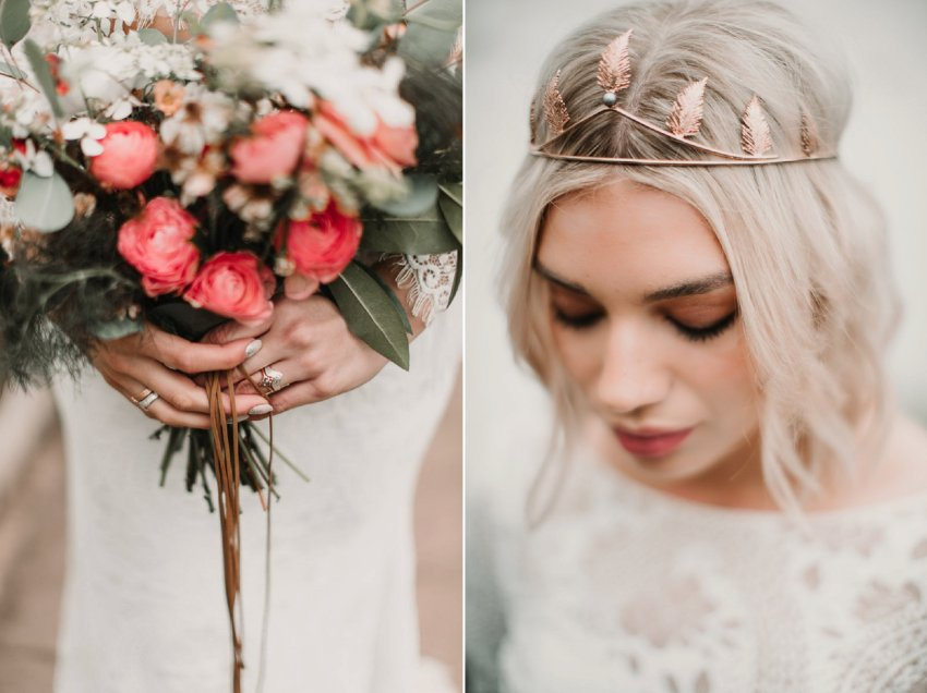 Blush and green Bohemian Wedding Inspiration bringing a little California to you where ever you are in the world. Relaxed styling and desert inspiration and vibes. Wedding ideas for boho brides who an effortlessly relaxed, bohemian wedding. Shot by Natalie Pluck Photography. See full blog post for credits and more inspiration here http://www.nataliepluck.com/bohemian-wedding-inspiration/ ‎