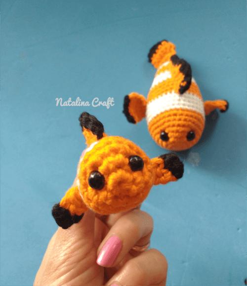 Free Crochet Pattern Clownfish Baby Clownfish Quick And Easy Pattern