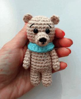 Amigurumi tiny bunny crochet pattern. Amigurumi Easter rabbit | Etsy | 337x274