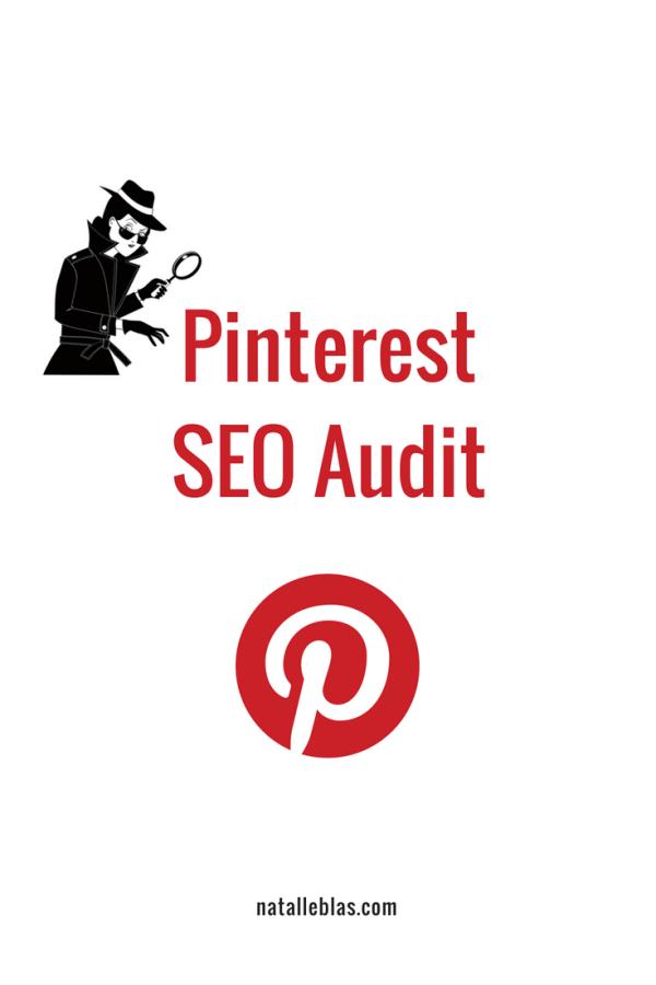 SEO for Pinterest Audit