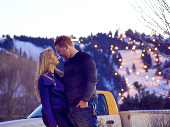 Love in the snow!