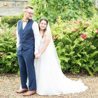 Holdsworth House Wedding: Aaron and Maxine.