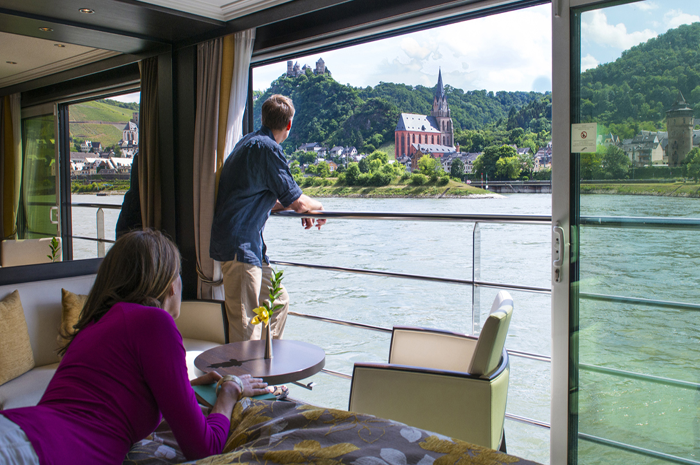 Cabine da Avalon Waterways