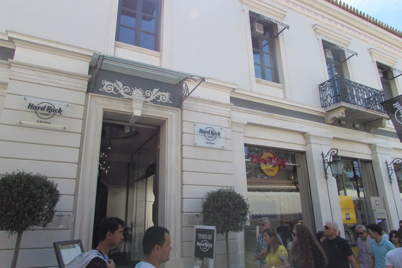 Hard Rock Café Atenas