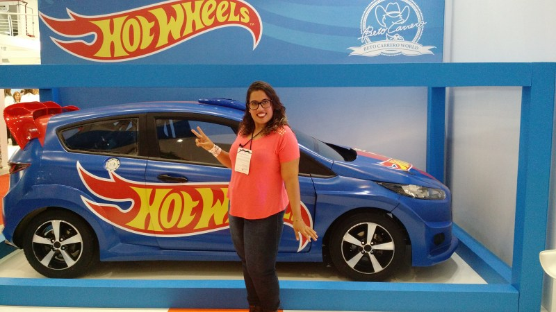 Carros da Hot Wheels no Beto Carrero World