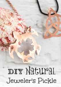 Recipe to Make your own DIY Natural Jeweler's Pickle