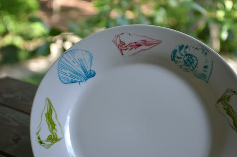 St&ed plate & DIY Dishwasher Safe Decorating Plates and Mugs - Sharpies Sharpie ...