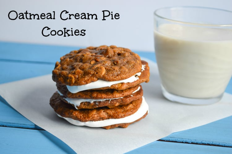 Oatmeal Cream Pie Cookie Recipe