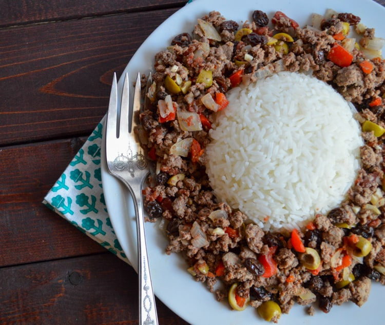 Venison Picadillo - Cuban-Inspired Ground Deer Recipe
