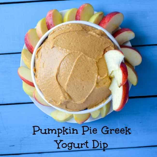 pumpkin greek yogurt dip recipe