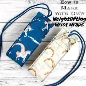 DIY Weightlifting Wrist Wraps Pattern & Tutorial