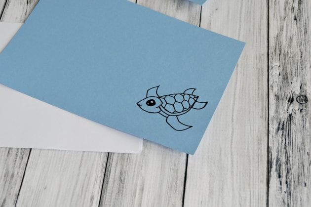 cute sea turtle notebook cover