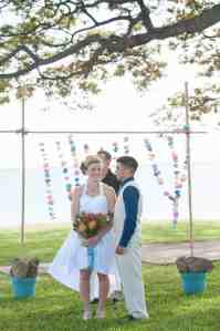 How to Make your Own DIY Bamboo Wedding Arch