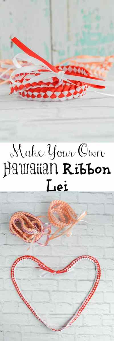 How to Make a Braided Hawaiian Ribbon Lei