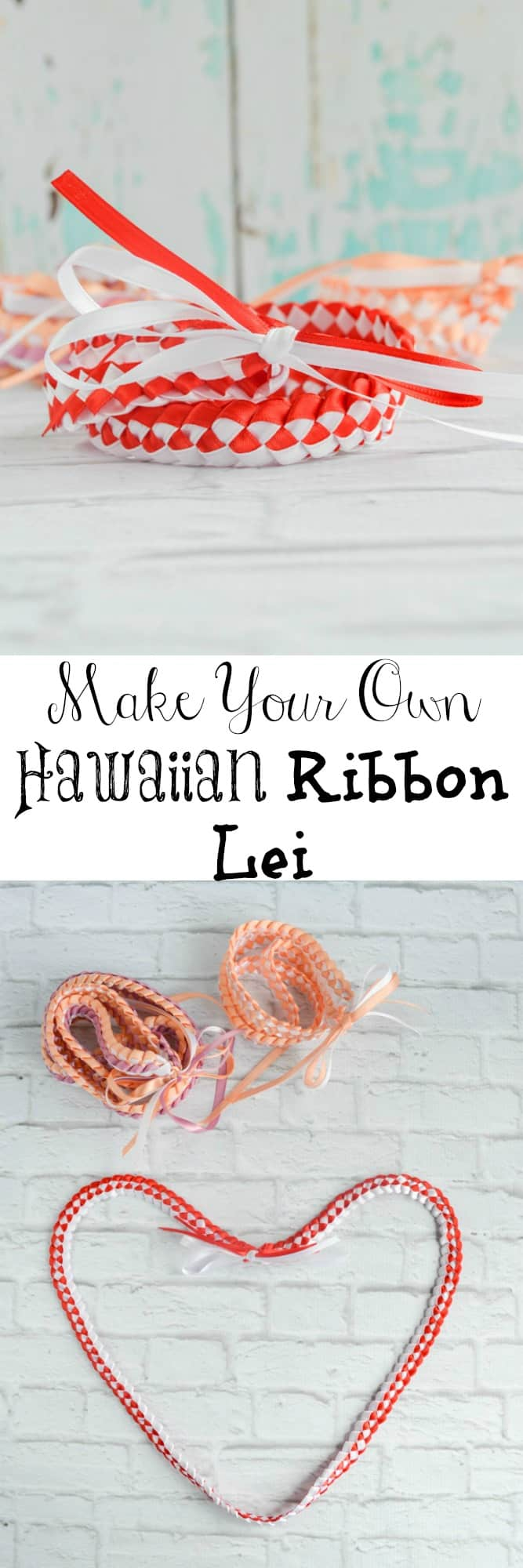 Make your own Hawaiian Ribbon lei