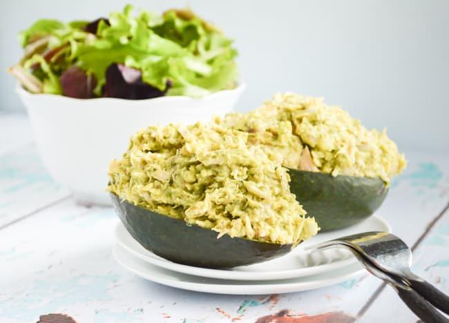 Paleo Avocado Tuna Salad #BeeHealthy #CG