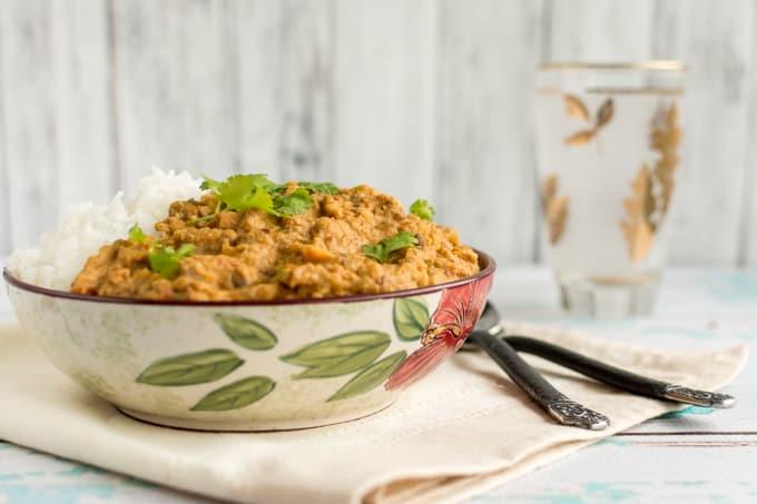 Vegetarian Pumpkin Lentil Curry