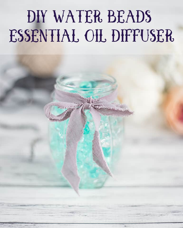 BBArtisans April Challenge – Spring Is Here – Water Beads Essential Oil Diffuser