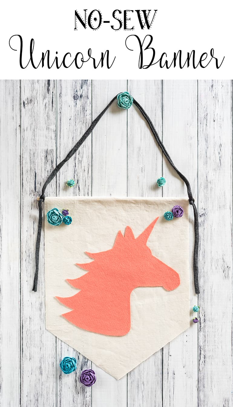 No-Sew Unicorn Banner