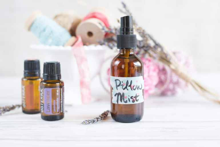 lavender and frankincense pillow mist recipe