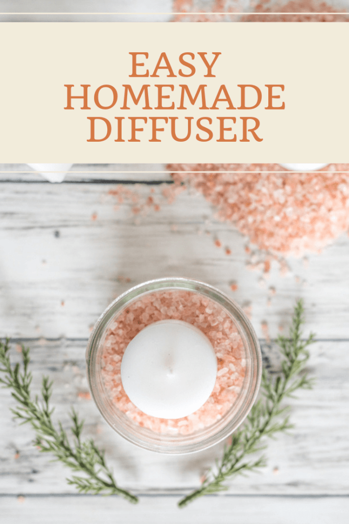 Easy Homemade Diffuser with Himalayan Salt