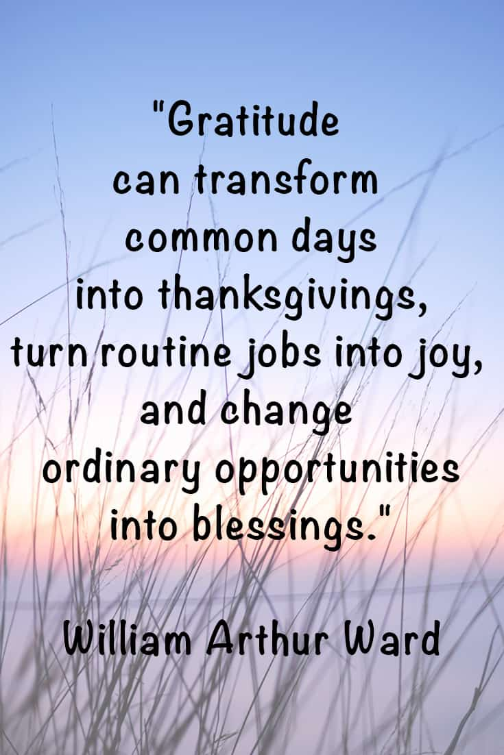 william arthur ward quotation about gratitude