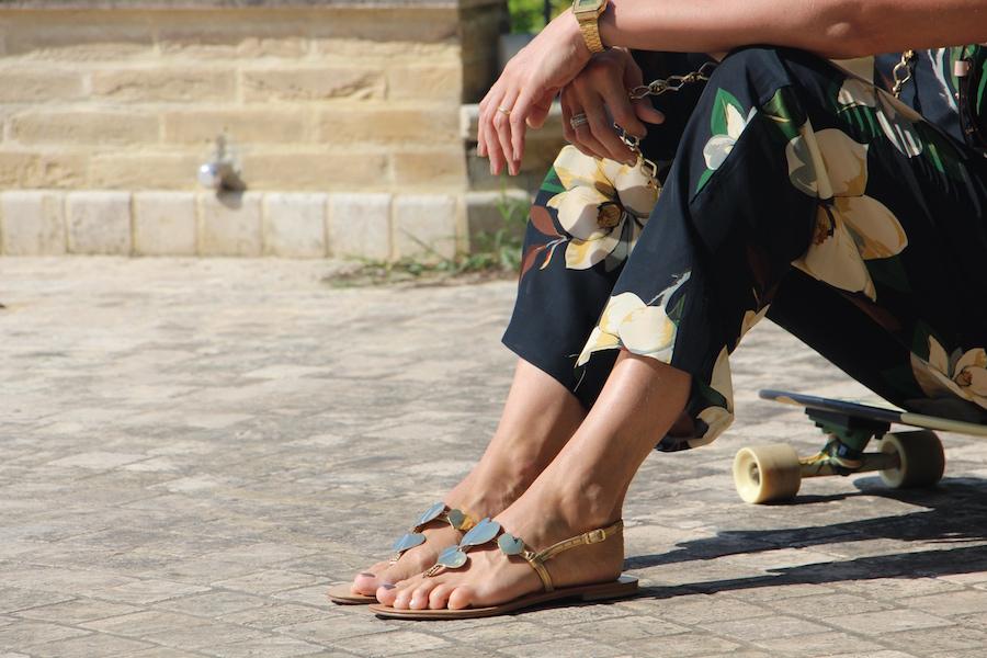 Tuta Jumpsuit da Donna sandali