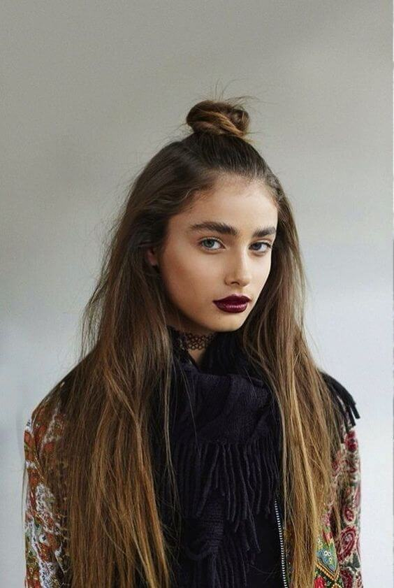 Acconciature tumblr per capelli medi